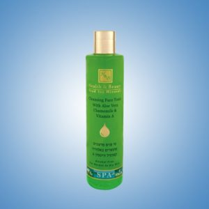 Cleansing Face tonic with Aloe Vera