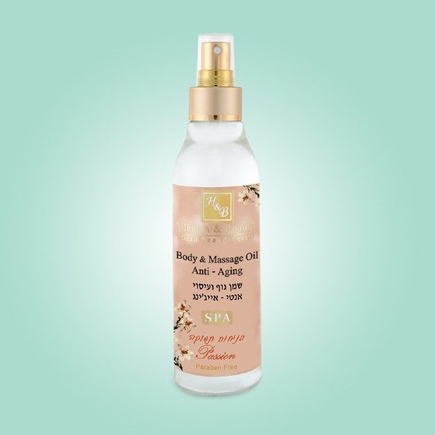 Body & Massage Oil Anti-Aging Passion