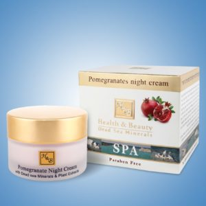 Pomegranates night cream