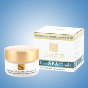 Powerful Anti-wrinkle cream SPF20