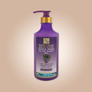 Rosemary & Nettle Shampoo for Anti Dandruff Hair