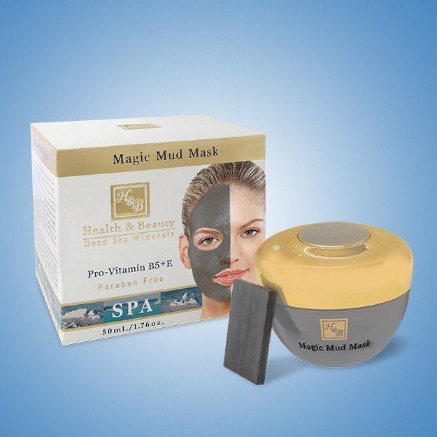 Μάσκα Προσώπου με Λάσπη από τη Νεκρά Θάλασσα
