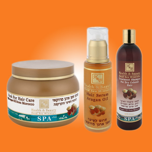 Θεραπεία Μαλλιών με βάση το λάδι Αργκάν