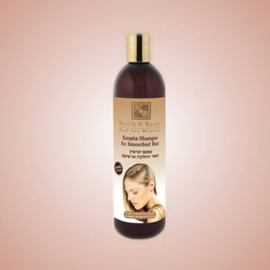 Keratin Shampoo for Smoothed Hair 400ml