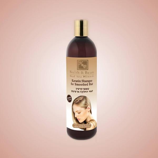 Σαμπουάν Κερατίνης για λαμπερά μαλλιά 400ml